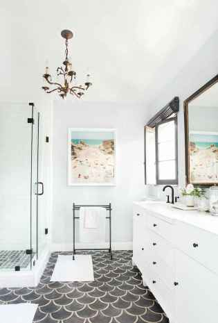 120 best modern farmhouse bathroom design ideas and remodel to inspire your bathroom (73)