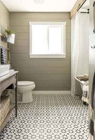 120 best modern farmhouse bathroom design ideas and remodel to inspire your bathroom (74)