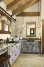 120 best modern farmhouse bathroom design ideas and remodel to inspire your bathroom (81)