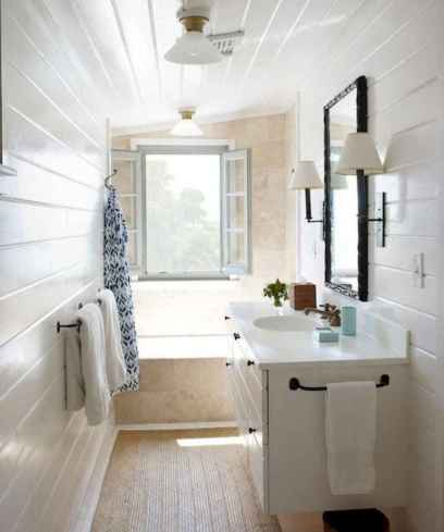 120 best modern farmhouse bathroom design ideas and remodel to inspire your bathroom (92)