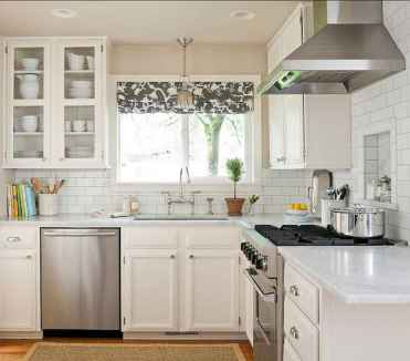 120 inspiring tiny kitchen design ideas and remodel (23)