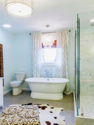 150 stunning farmhouse bathroom tile floor decor ideas and remodel to inspire your bathroom (1)