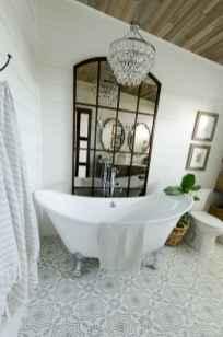 150 stunning farmhouse bathroom tile floor decor ideas and remodel to inspire your bathroom (111)