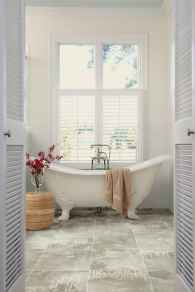 150 stunning farmhouse bathroom tile floor decor ideas and remodel to inspire your bathroom (118)