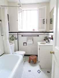 150 stunning farmhouse bathroom tile floor decor ideas and remodel to inspire your bathroom (121)
