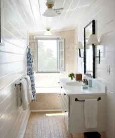 150 stunning farmhouse bathroom tile floor decor ideas and remodel to inspire your bathroom (122)