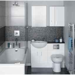 150 stunning farmhouse bathroom tile floor decor ideas and remodel to inspire your bathroom (37)