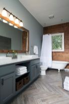 150 stunning farmhouse bathroom tile floor decor ideas and remodel to inspire your bathroom (4)