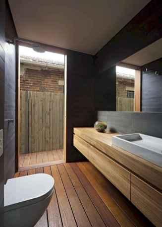 150 stunning farmhouse bathroom tile floor decor ideas and remodel to inspire your bathroom (49)