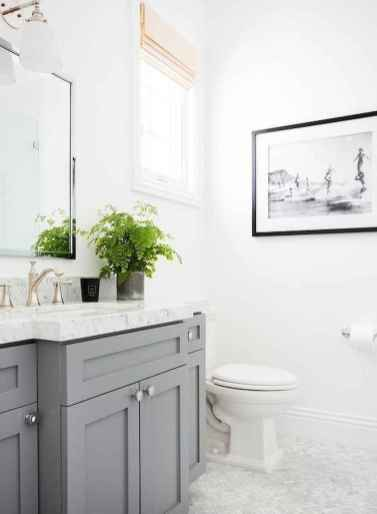 150 stunning farmhouse bathroom tile floor decor ideas and remodel to inspire your bathroom (55)
