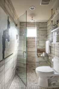 150 stunning farmhouse bathroom tile floor decor ideas and remodel to inspire your bathroom (8)