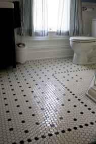 150 stunning farmhouse bathroom tile floor decor ideas and remodel to inspire your bathroom (91)