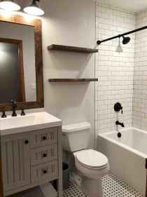 150 stunning small farmhouse bathroom decor ideas and remoddel to inspire your bathroom (146)