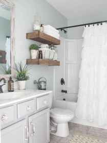 150 stunning small farmhouse bathroom decor ideas and remoddel to inspire your bathroom (28)