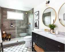 150 stunning small farmhouse bathroom decor ideas and remoddel to inspire your bathroom (33)