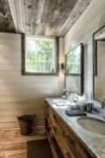 150 stunning small farmhouse bathroom decor ideas and remoddel to inspire your bathroom (4)
