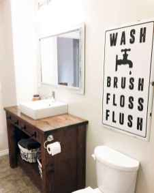 150 stunning small farmhouse bathroom decor ideas and remoddel to inspire your bathroom (44)