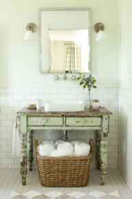 150 stunning small farmhouse bathroom decor ideas and remoddel to inspire your bathroom (69)