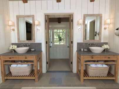 150 stunning small farmhouse bathroom decor ideas and remoddel to inspire your bathroom (7)