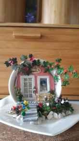 50 easy diy summer gardening teacup fairy garden ideas (22)