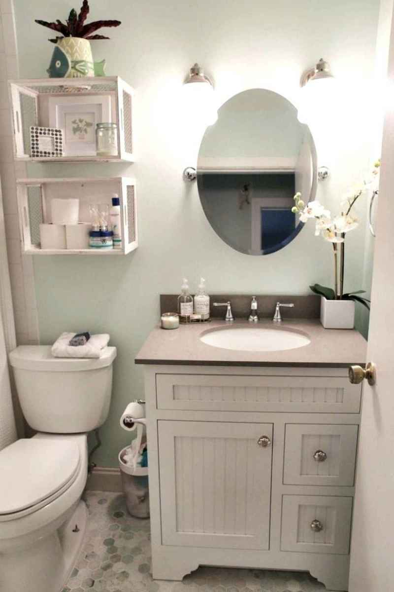 50 small guest bathroom ideas decorations and remodel (26)