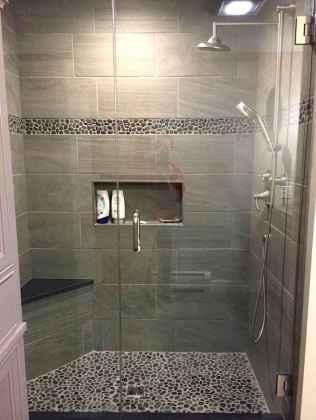 70 inspiring farmhouse bathroom shower decor ideas and remodel to inspire your bathroom (29)