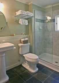 70 inspiring farmhouse bathroom shower decor ideas and remodel to inspire your bathroom (58)