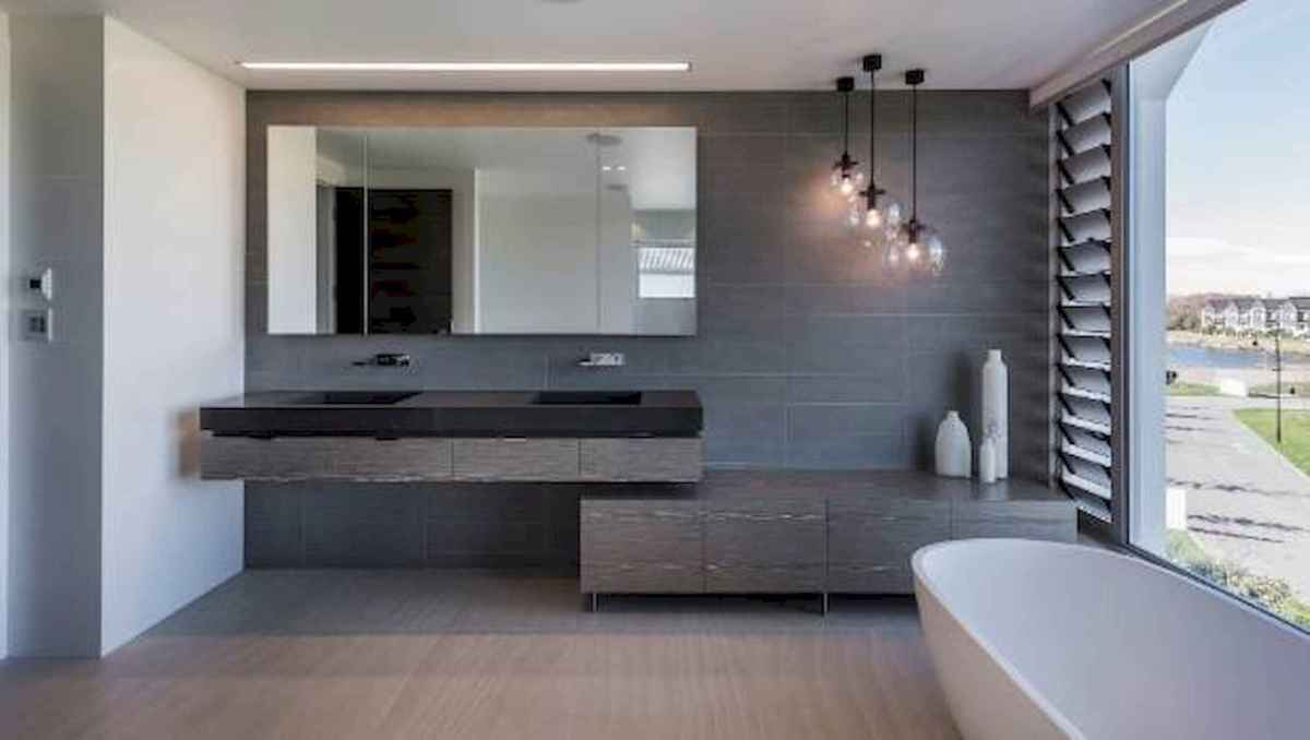 70 modern bathroom cabinets ideas decorations and remodel (14)