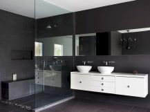 70 modern bathroom cabinets ideas decorations and remodel (4)
