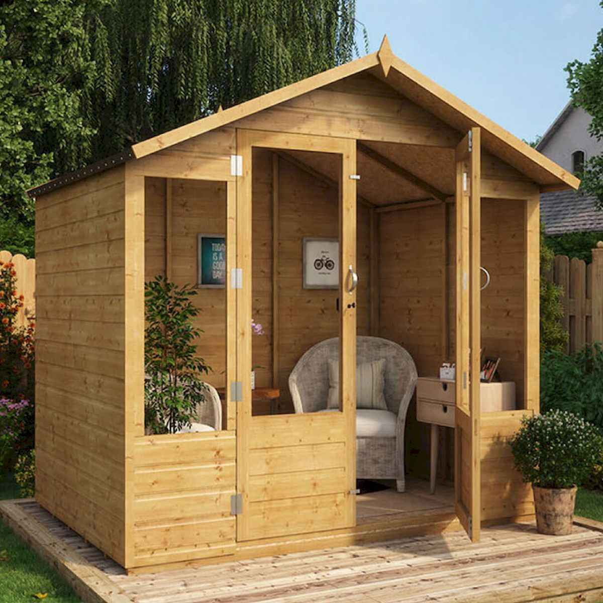 90 beautiful summer house design ideas and makeover make your summer awesome (67)