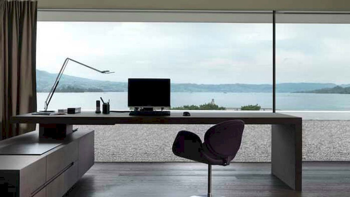 90 stunning home office design ideas and remodel make your work comfortable (1)