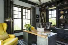 90 stunning home office design ideas and remodel make your work comfortable (17)