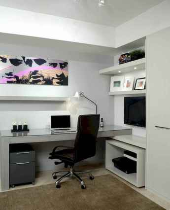 90 stunning home office design ideas and remodel make your work comfortable (27)
