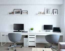 90 stunning home office design ideas and remodel make your work comfortable (3)