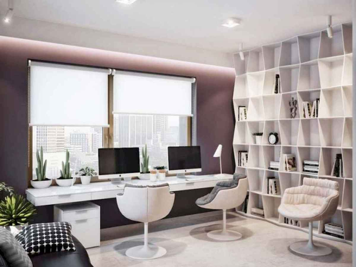 90 stunning home office design ideas and remodel make your work comfortable (52)