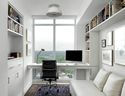 90 stunning home office design ideas and remodel make your work comfortable (6)