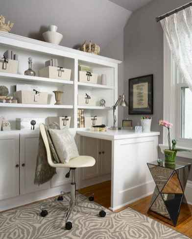 90 stunning home office design ideas and remodel make your work comfortable (72)