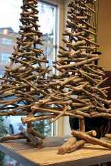 30 rustic and vintage christmas tree ideas decorations (4)