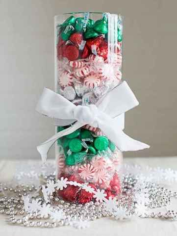 35 beautiful christmas decorations table centerpiece (31)