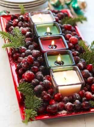 35 beautiful christmas decorations table centerpiece (34)