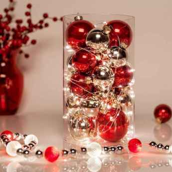 35 beautiful christmas decorations table centerpiece (6)