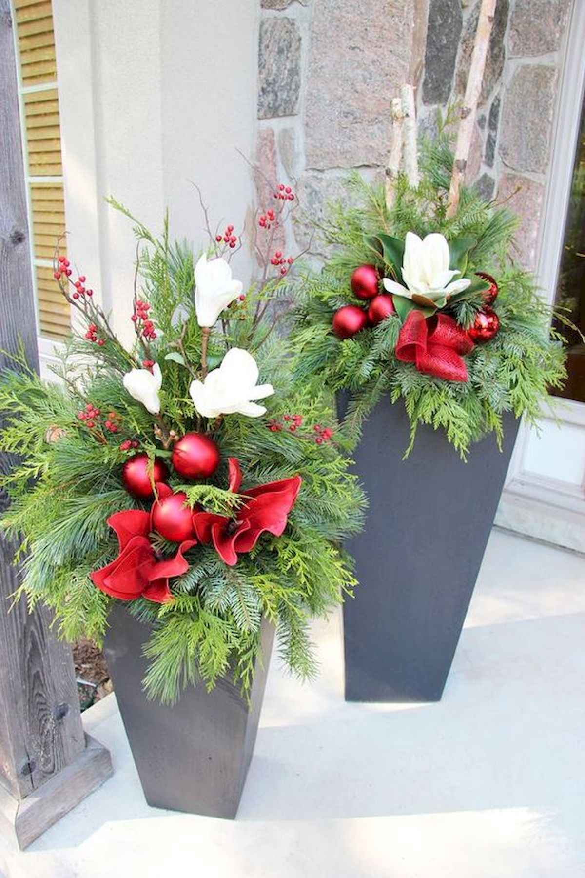 40 amazing outdoor christmas decorations ideas (14)