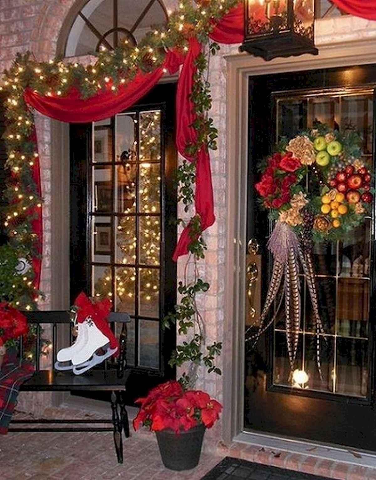 40 amazing outdoor christmas decorations ideas (2)