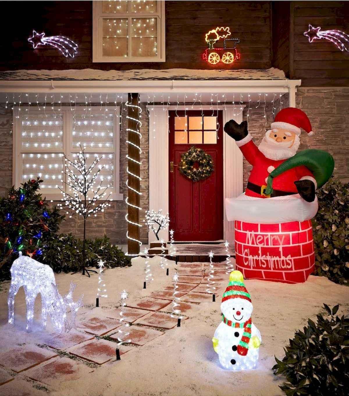40 amazing outdoor christmas decorations ideas (22)