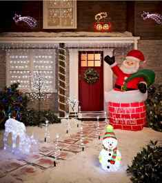 40 amazing outdoor christmas decorations ideas (22)