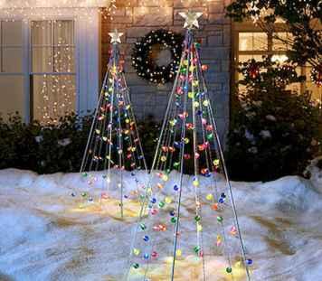 40 amazing outdoor christmas decorations ideas (27)