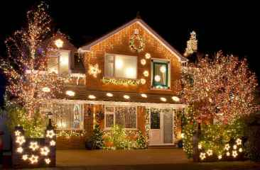 40 amazing outdoor christmas decorations ideas (40)