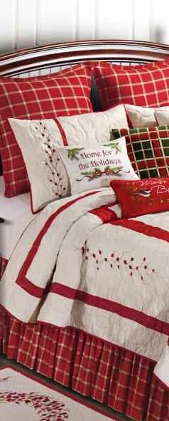 40 awesome bedroom christmas decorations ideas (13)