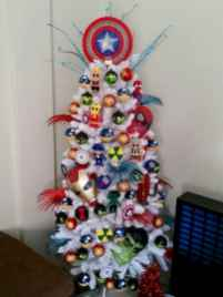 40 unique christmas tree ideas decorations (18)