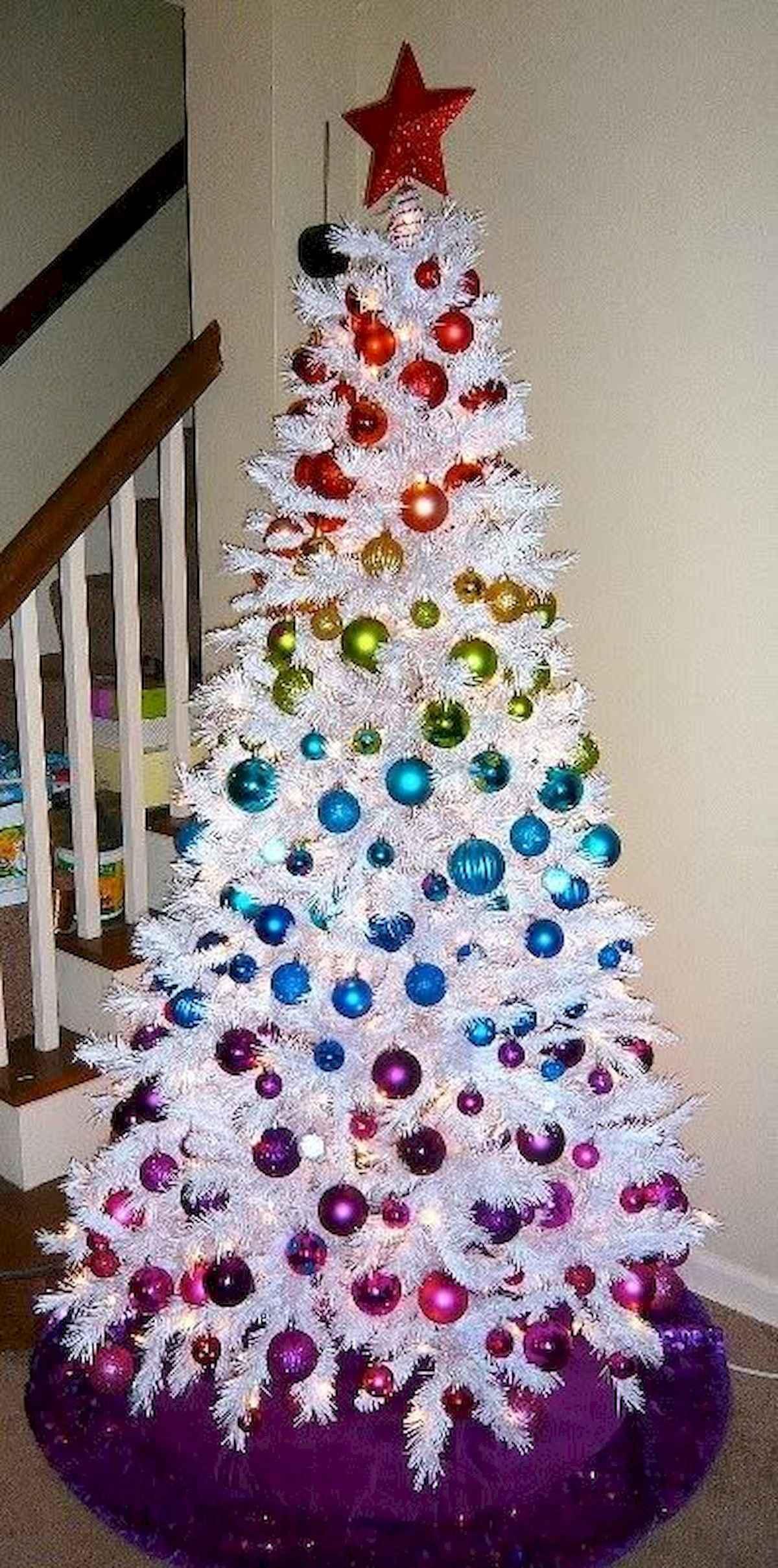 40 unique christmas tree ideas decorations (30)